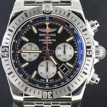 Breitling Chronomat Airborne Steel 44MM, Black Dial, Full Set...