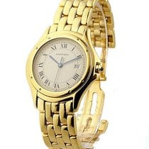 Cartier 887906 Cougar - Large Size - Yellow Gold on Bracelet