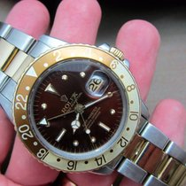 Rolex GMT Master 1675 Tiger Eye Root Beer | Full Set
