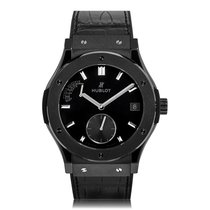 Hublot Classic Fusion Black Ceramic Mens Watch 516.CM.1440.LR