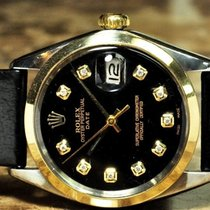 Rolex Oyster Perpetual Date with Diamonds Vintage