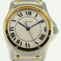 Cartier Santos or / acier