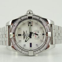 Breitling Galactic 36 diamond bezel and MOP diamond dial (incl...