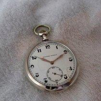 Tavannes watch, vintage silver , serviced