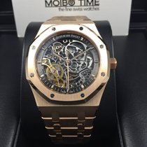 Audemars Piguet 15407OR Royal Oak Skeleton 18K Rose Gold...