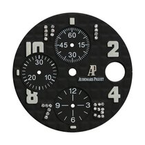 Audemars Piguet 42mm Black Méga Tapisserie Pattern Custom Dial