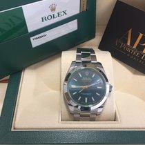 Rolex Milgauss 116400GV Blue neuve Stickée à partir de...