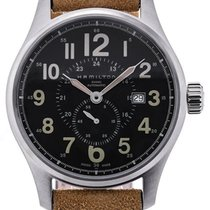 Hamilton Khaki Field Officer 44 Small Second
