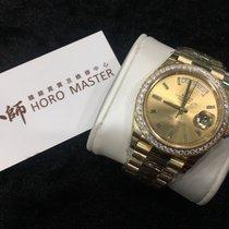 Rolex 228348RBR Day Date II Diamonds