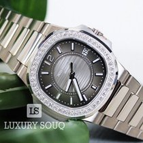Patek Philippe Nautilus Grey 18K White Gold Ladies