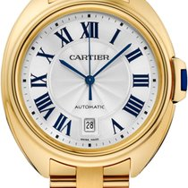 Cartier Cle De Cartier Automatic 40mm 18kt Yellow Gold WGCL0003