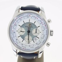 Breitling Transocean Chronograph Unitime Steel (B&P2014)...