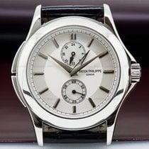 Patek Philippe 5134P-001 Travel Time Manual Silver Dial...