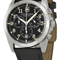 Victorinox Swiss Army Infantry Vintage Chronograph Steel Mens...