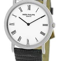 "Patek Philippe Gent's 18K White Gold  # 3520 - D ""Cala..."