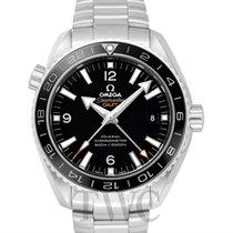오메가 (Omega) Seamaster Planet Ocean 600M GMT Black Steel 43.5mm...
