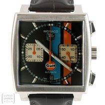 TAG Heuer Uhr Monaco Gulf Chronograph Limited Edition Steve...