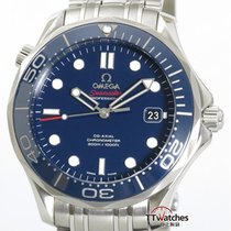 Omega Seamaster Diver 300m Co-axial Box Papers