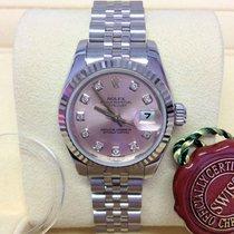 Rolex Lady-Datejust 26 179174- Diamond Set - Box & Papers...
