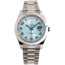Rolex Oyster Perpetual Day-Date II Platinum Unisex Watch