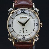 Bulova Elegance white dial gold plaque