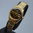 Ρολεξ (Rolex) Datejust 18K Gold President Tiger Eye Dial 1...