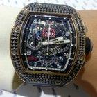 Richard Mille Felipe Massa Rose Gold with Black Sapphire -...