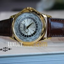 Patek Philippe Complications Mechanical Silver Dial Leather