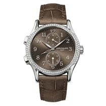 Patek Philippe Complications Ladies Dual Time 35mm White Gold