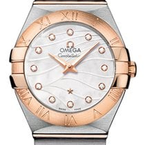 Omega Constellation Brushed 27mm 123.20.27.60.55.006