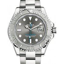 롤렉스 (Rolex) Yacht-Master 37 268622 Dark Rhodium Platinum...