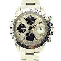 Tudor Chrono Big Block case signed Rolex w  box -certificate