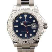 롤렉스 (Rolex) Yacht Master 40mm Stainless Steel & Platinum...