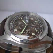 Hamilton Khaki Chronograph Chocolate BOX & PAPERS