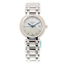 Longines Prima Luna Stainless Steel White Quartz L8.110.4.87.6