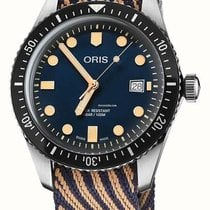 Oris Divers 65 2018 Recycled Textile Strap