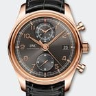 IWC Portoghese Chronograph Classic Red Gold 18K