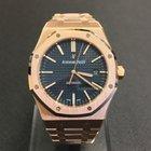 Audemars Piguet Royal Oak Rosegold Blue Dial Boutique Exclusive