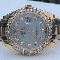 Rolex Masterpiece 39mm 18K Tri Color Gold Diamonds