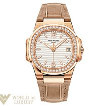 Patek Philippe Nautilus 18K Rose Gold Ladies Watch