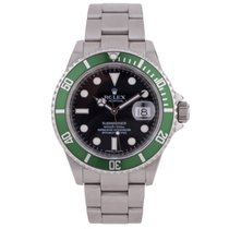 Rolex Pre-Owned Submariner Anniversary 16610LV 2008 Model