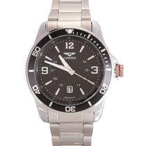 Seiko Mvt Black Oyster Deepsea Men's Watch Era