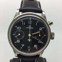 "Lemania Military ""Royal Navy"" Single Button Chronograph"