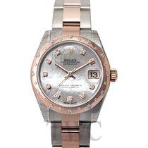 Rolex Datejust 31 White MOP Steel/18k Rose Gold Dia 31mm - 178341