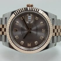 Rolex Datejust II Sundust Diamond Dial