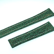 Breitling Band 20mm Green Shark Strap Correa Ib20-14