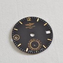 Breitling Dial 1990s Duograph Double Date Gmt New Old Stock