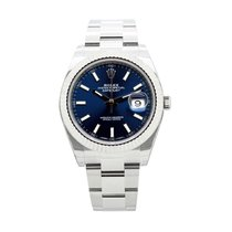 Ρολεξ (Rolex) Datejust41 Cadran Bleu