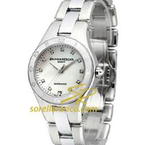 Baume & Mercier Linea 32mm Mother of Pearl Dial Steel Case
