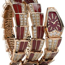 Bulgari Serpenti Jewelery Scaglie 26mm  spp26rgd1gd1rl.2t